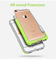 Esamday For iPhone 6s 4 7inch 6 Color Walnutt Soft TPU Hybrid Bumper Frame Case Cover