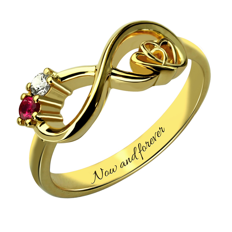 popular birthstone promise rings buy cheap birthstone