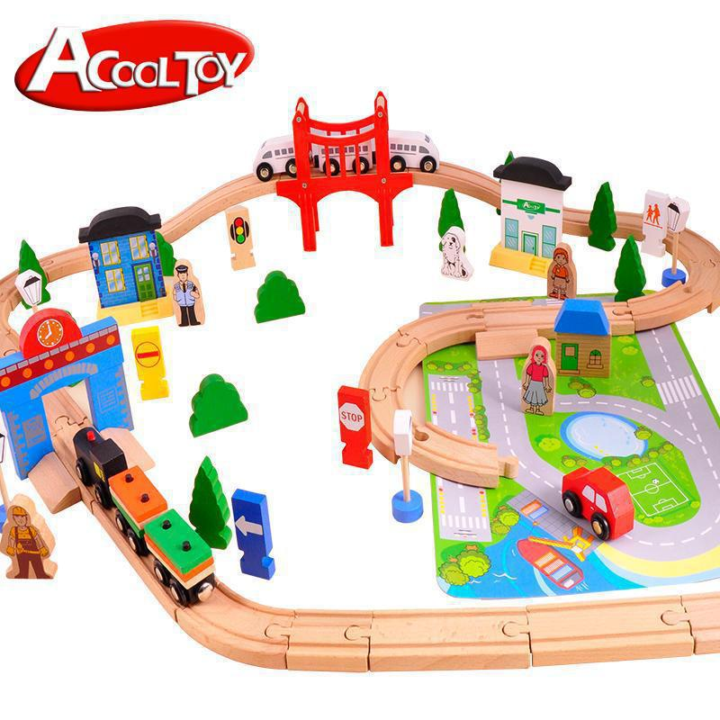Diecasts Toy Vehicles Kids Toys Model Cars wooden puzzle Building slot track Rail transit Parking Garage(China (Mainland))