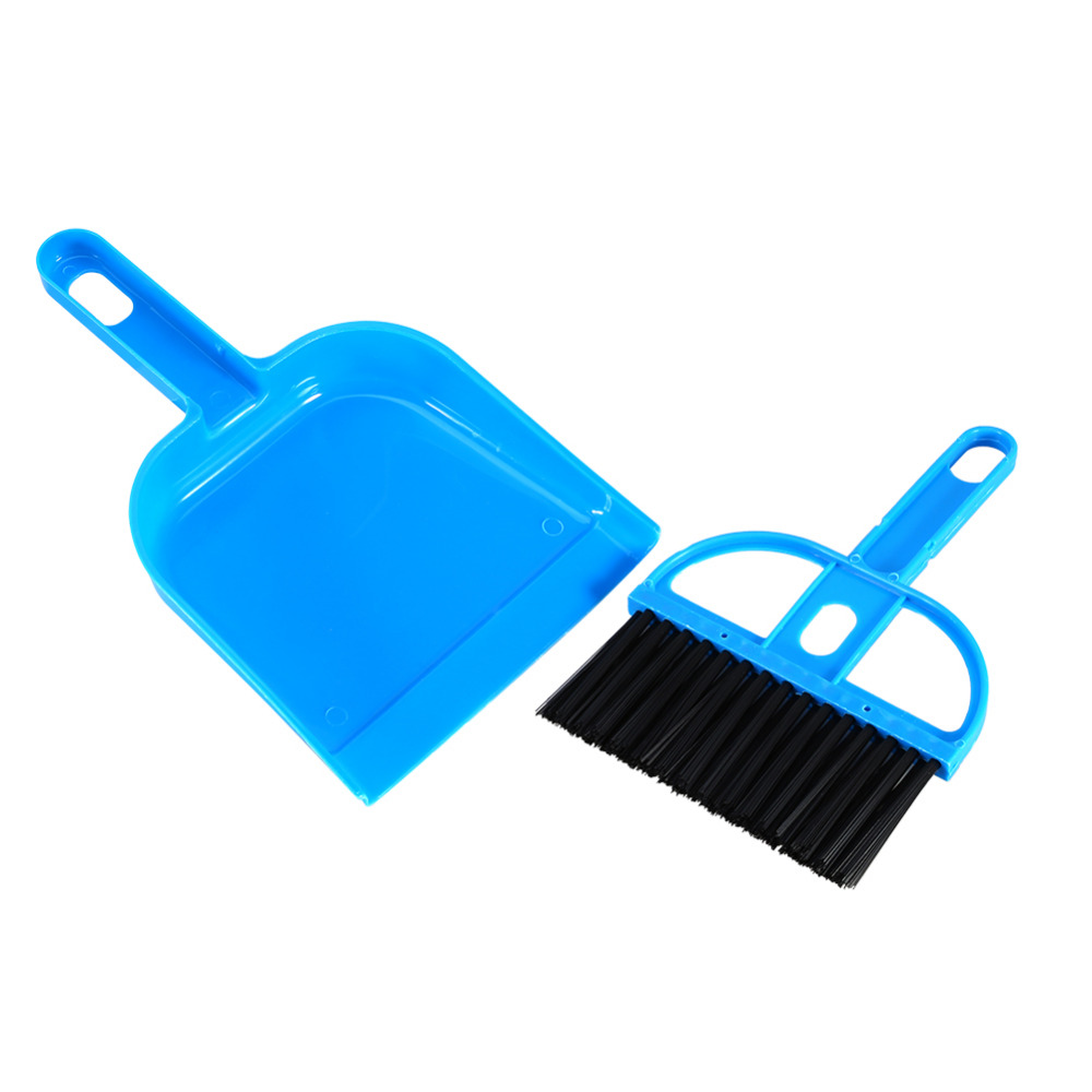 New Arrival Mini Plastic Hand Kitchen Dustpan And Brush Set Soft Cleaning Sweeper Dust Pan(China (Mainland))