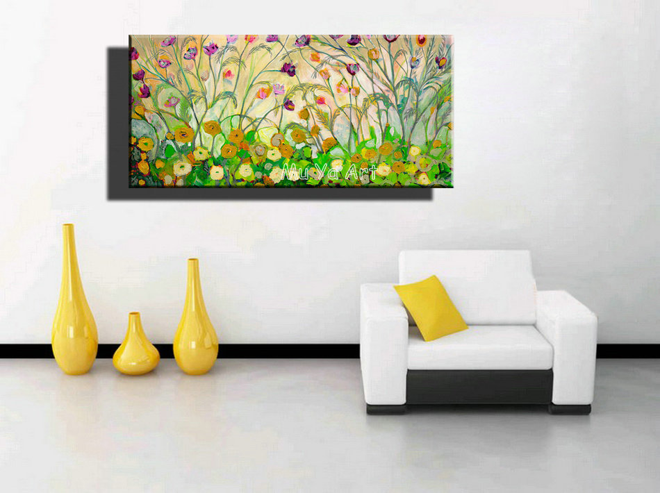 canvas wall art oil painting on canvas for wall decor living room