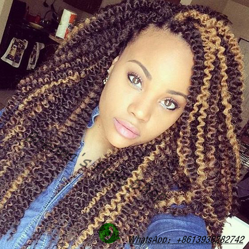 Crochet Braids Kinky Twists : 16inch Fast Shipping afro kinky twist hair crochet braids afro kinky ...