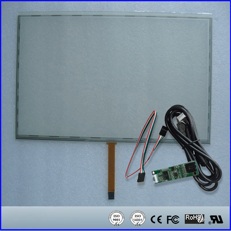 18.5 Inch 5 Wire Resistive Touch Screen Panel 429x253 mm USB Kit For 18.5 Monitor 16:10(China (Mainland))