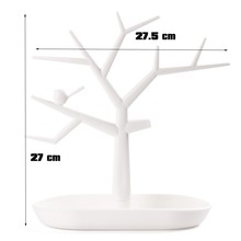 2015 New Multifunctional Tree Branch Shape White color Jewelry Display Earring Bracelet Necklace Ring Display stand