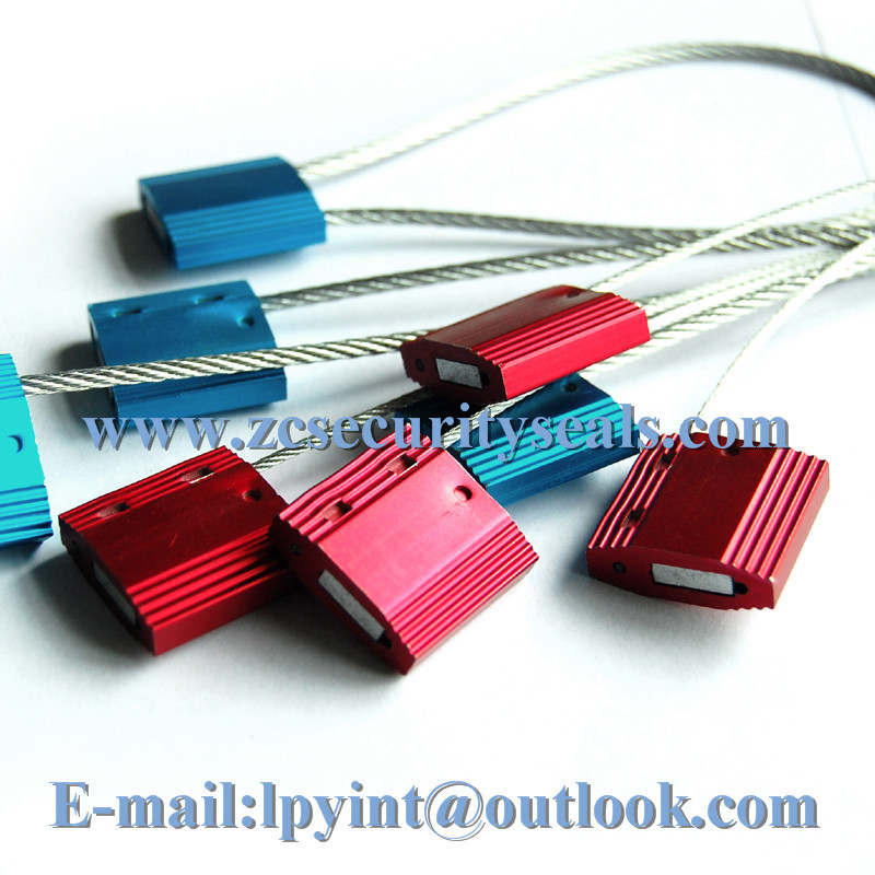 High security metal seal electric meter seals container cable ties cable seals for truck 1000pcs(China (Mainland))