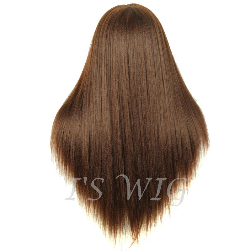 Brown 20″ Training Female Mannequin Head With Makeup 70% Human Hair 30% Animal Hair Hairdressing cutting training Mannequin head