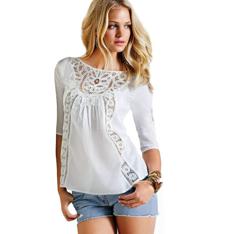 Awesome  Long Sleeve Tshirts Blouse Tops Womens White Size 1018  EBay