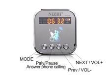mini portable speaker digital music players bluetooth speakers Support TF U disk FM radio clock alarm