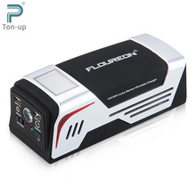 FLOUREON Jump Starter 1000A Peak 20000mAh Emergency Battery Charger Power Bank for 12V/24V Truck Vehicles Mobile Phones with SOS(China (Mainland))