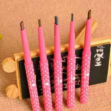 Free Shipping High Quality Women Girls Waterproof Automatic Eyebrow Pencil Eyebrow Liner Beauty Makeup Tools