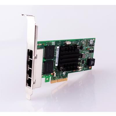 350AM4 PCI Express Network Card PCI-E Adapter 4 Gigabit Lan Port 10/100/1000M Lan Ethernet Network interface Card Adapter Driver(China (Mainland))