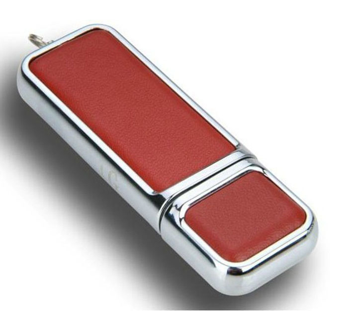 Wholesale high quality leather usb flash drive fur metal box pendriver 8gb 32gb commercial memory stick 4gb 16gb mini gift gifts(China (Mainland))