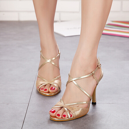 2015 New Fashion Women High heels shoes Ladies Sexy Stiletto High Heels Sandals Shoes Gold Silver Pumps Free Shipping(China (Mainland))