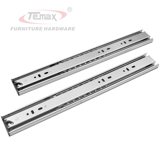 """NEW 22"""" Full Extension steel 3-Fold Ball Bearing Slide Hydraulic Soft Close Drawer Slides Cabinet"""