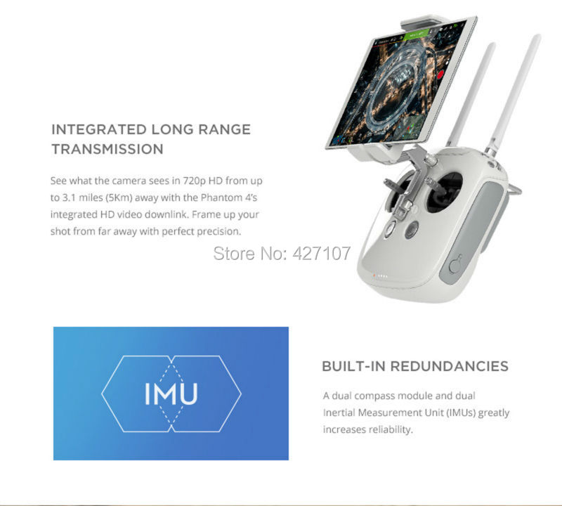 Fast Shipping 2016 DJI Phantom 4 Helicopter + Extra Battery + Hardshell Backpack + More Via EMS