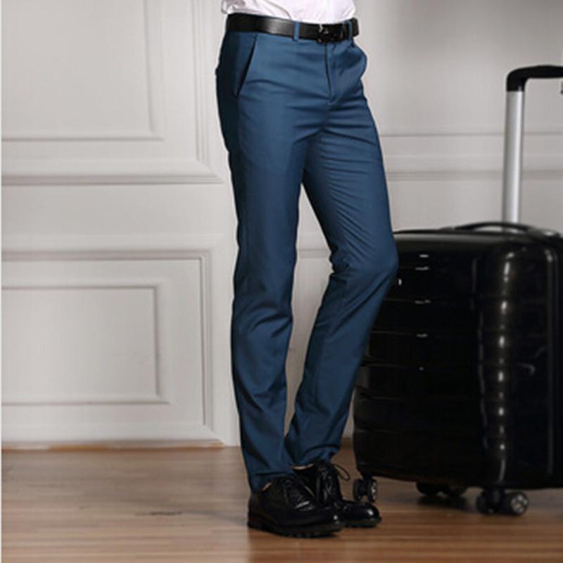 Mens Slim Fit Suit Pants Reviews - Online Shopping Mens Slim Fit