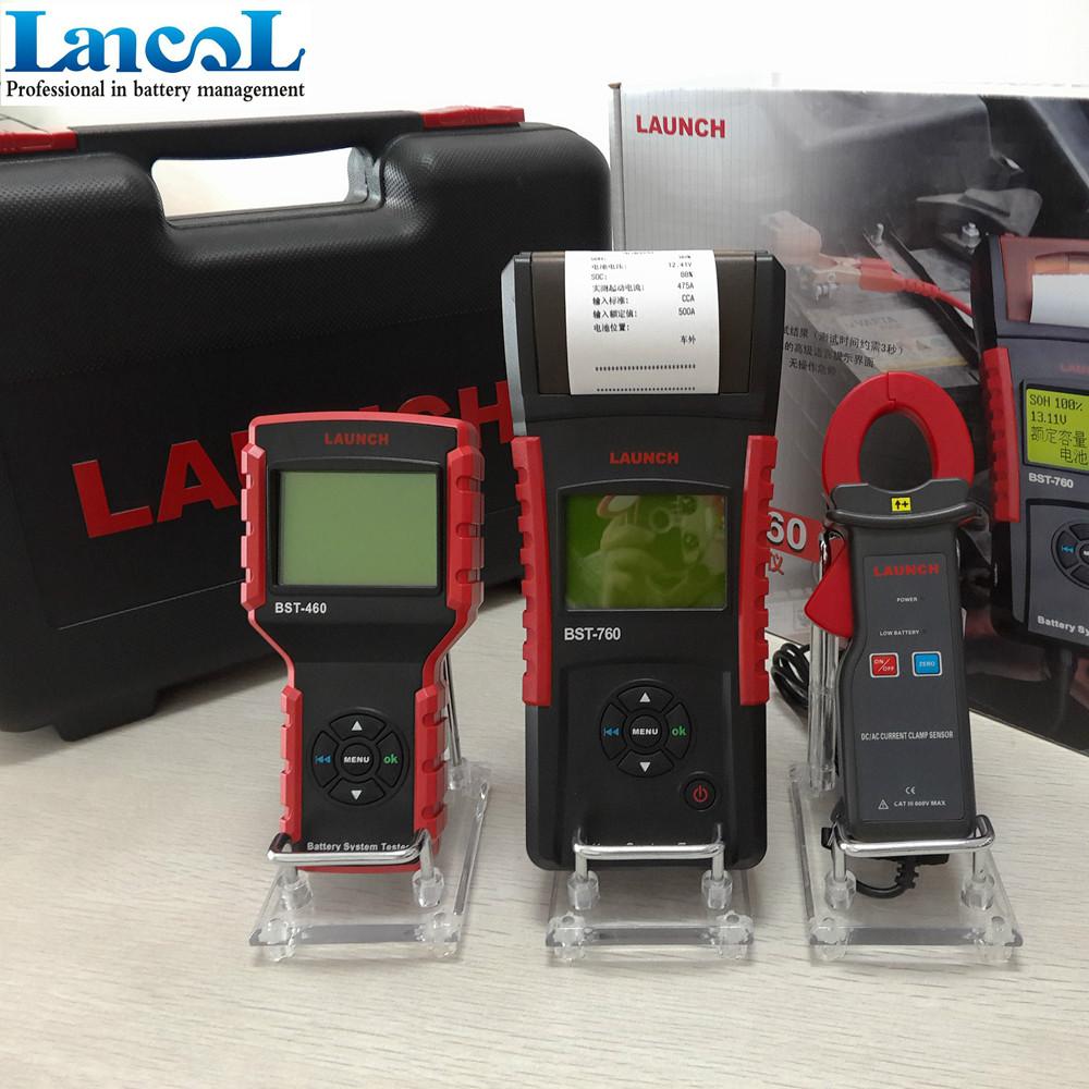 launch diagnostic tool 12v auto battery tester bst760 car battery tester 12v car detector in. Black Bedroom Furniture Sets. Home Design Ideas