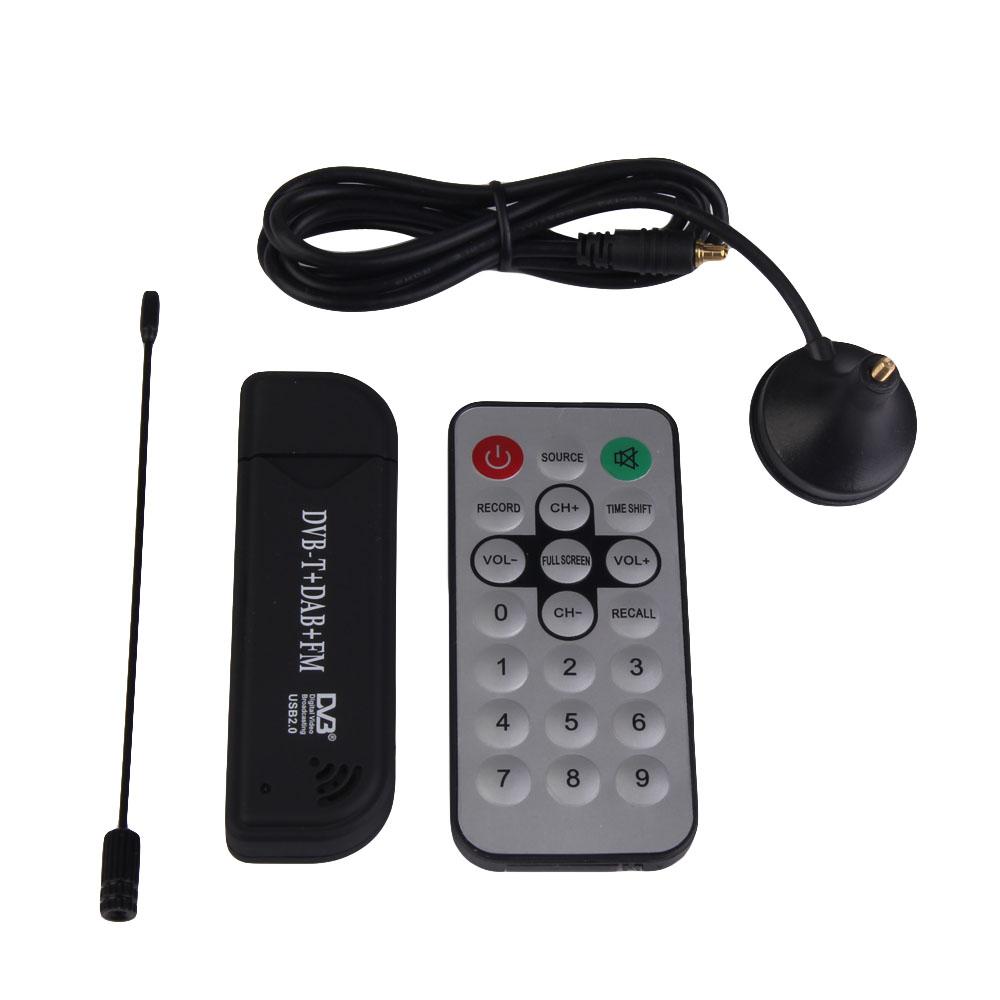 DVB-T Mini USB Digital TV HDTV Stick Receiver Recorder Remote Control DVBT INGT(China (Mainland))