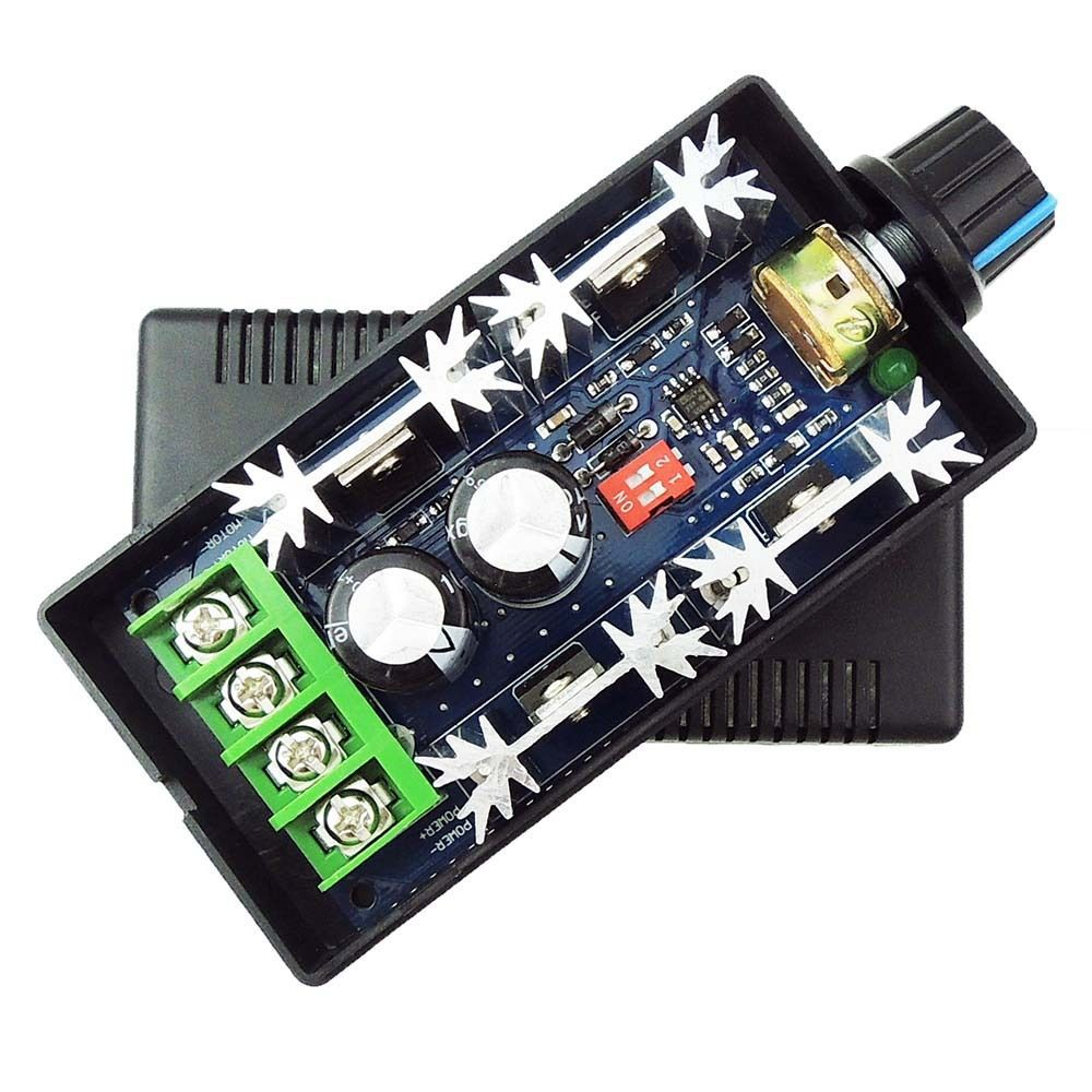 High Quality Newest 9-50V 40A DC Motor Speed Control PWM HHO RC Controller 12V 24V 48V 2000W MAX(China (Mainland))