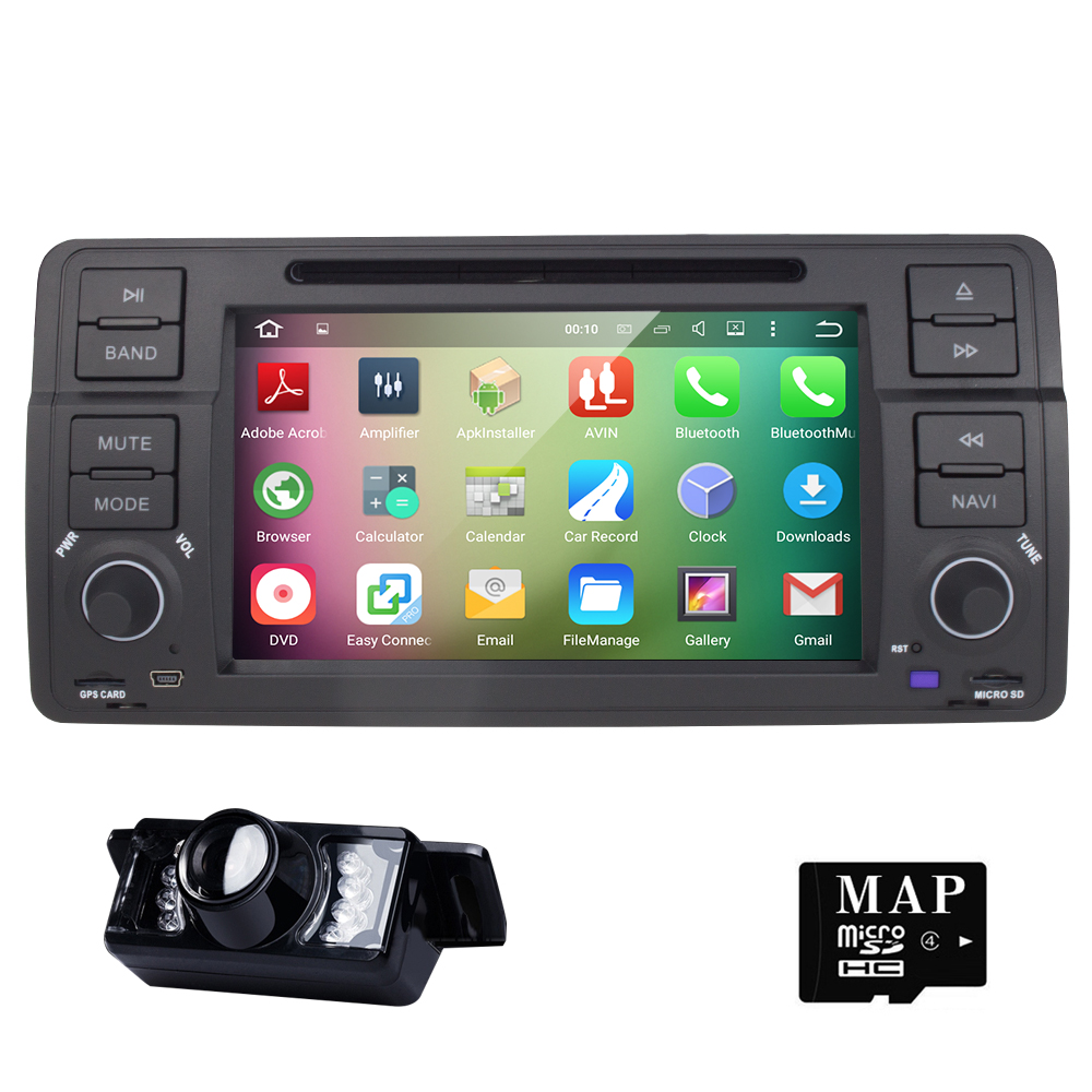 Android 5.1.1 7 Inch Car DVD Player Multimedia For BMW/E46/M3/MG/ZT/3 Series Rover 75 Canbus Wifi GPS Navigation FM Radio Map(China (Mainland))