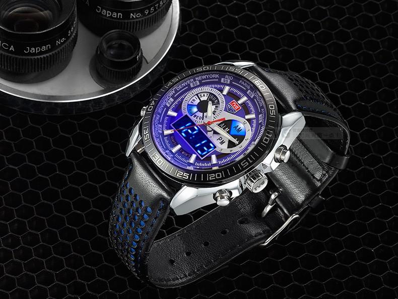 ТВГ тенденция мужские часы многофункциональный электронные часы студентов смотреть открытый спортивные часы водонепроницаемые часы