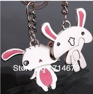 Free shipping (60PR/LOT )Wholesale Personalized Couples gifts cute rabbit novelty items valentine days gift