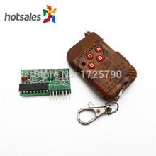 High Quality 4 Channel RF Wireless Remote Control Module Remote Controler Kit 315mhz For Arduino Door Smart Home