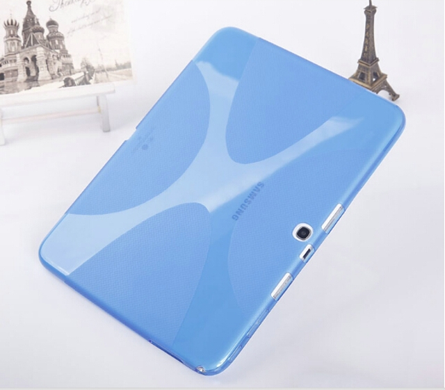 20pcs/lot Luxury Skidproof X Line Soft Silicon Rubber TPU Gel Skin Shell Cover Case For Samsung Galaxy Tab 4 10.1 T530 T531 T535<br><br>Aliexpress