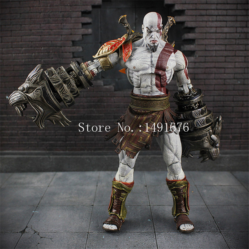 NECA God of War 3 Ghost of Sparta Kratos PVC Action font b Figure b font
