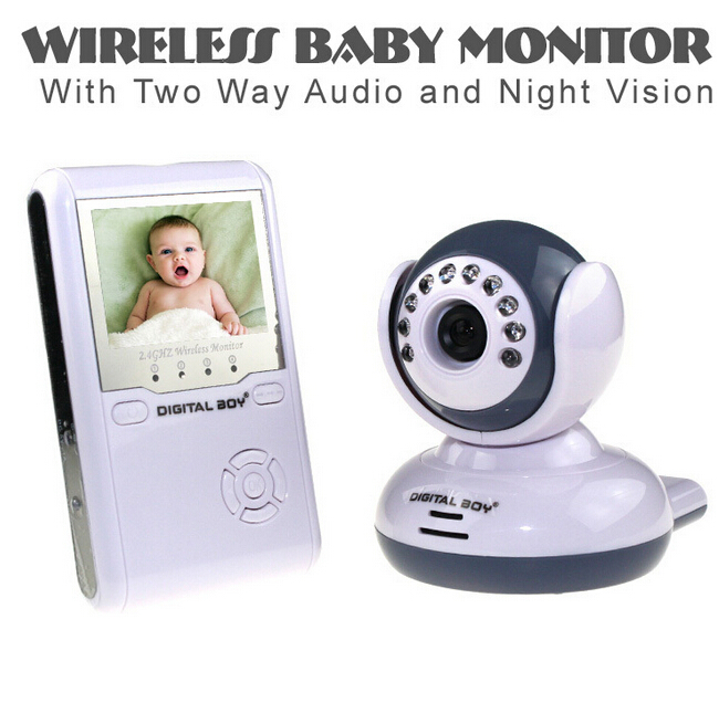 wendy wireless 4ch quad dvr security system with 7 inch tft lcd monitor 2 4ghz digital baby. Black Bedroom Furniture Sets. Home Design Ideas