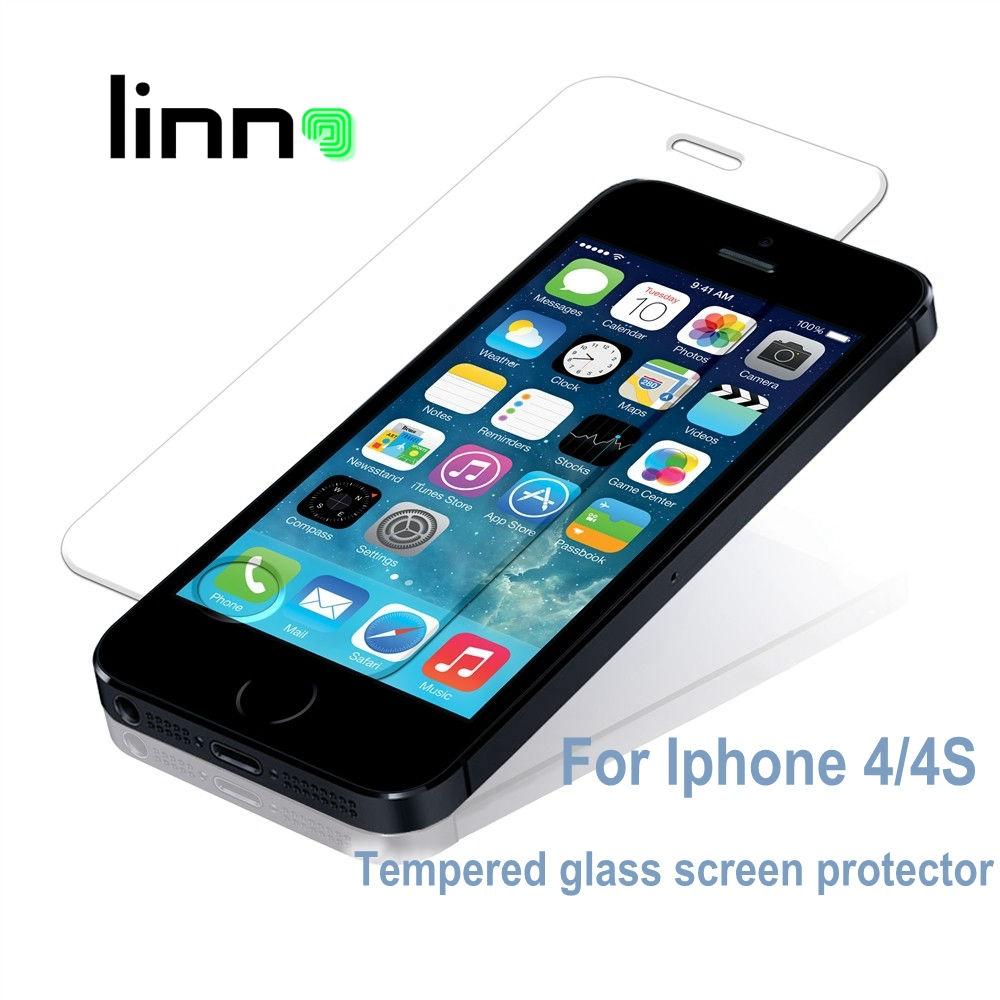Premium Tempered glass font b Screen b font font b Protector b font For iPhone 4