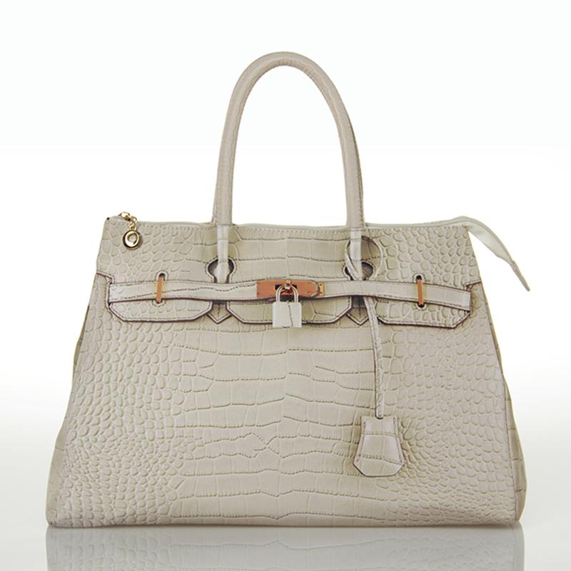 Hot Sale 15 Colors 3D Printing Crocodile Pattern Shoulder Bag Alligator Zipper Tote Bag Large and Medium Size free shipping(China (Mainland))