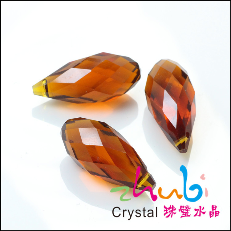 Amber Color Crystal Glass Beads For Jewerly Findings China Jewelry Beading For Tablish Bracelet(China (Mainland))
