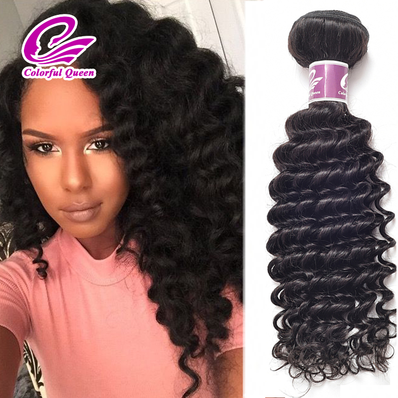 Crochet Braids With Deep Wave Human Hair - Braids