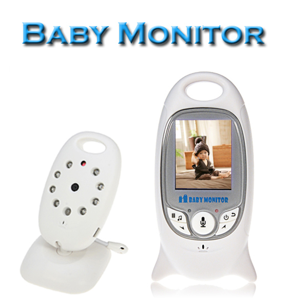 Electronica 2.0 Inch Babysitter Wireless Baby Monitor with IR Video Camera 2 Way Talk Audio Digital Control(China (Mainland))