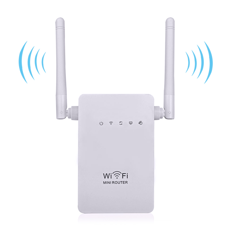 Wireless Wifi Router 802.11 b/g/n Network Mini Router 300Mbps Wi-fi Wifi Repeater Expander Range Signal Boosters WPS Encryption(China (Mainland))