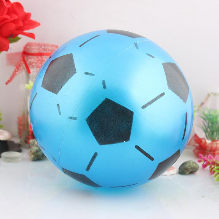 Free shipping inflatable football beach ball(China (Mainland))