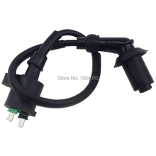 Ignition Coil For GY6 Scooter 50cc 125cc QMB139 50cc MOTORS Dirt Pit Quad Bikes