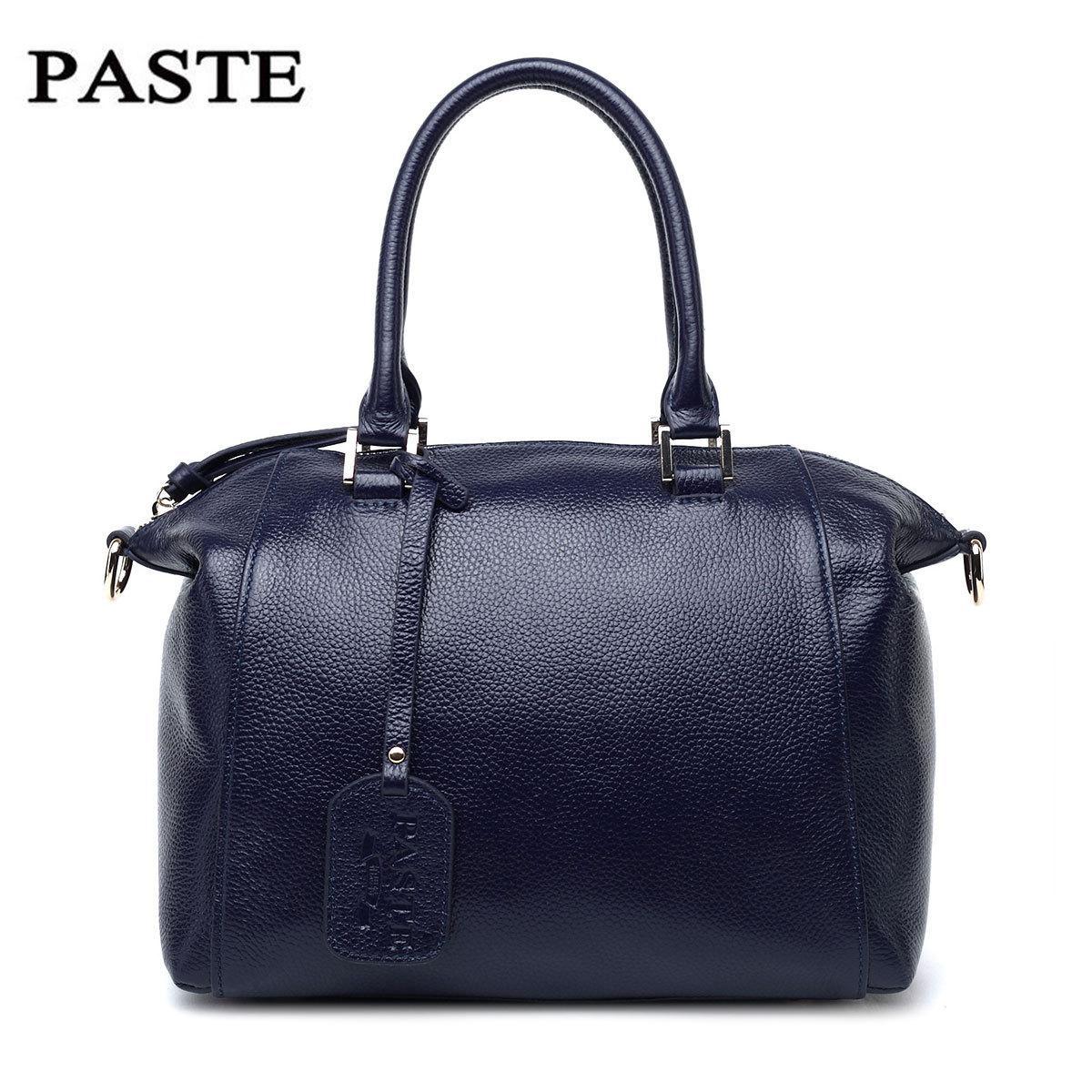 Фотография Hot selling luxury fashion genuine leather women handbags high class natural leather vintage style ladies messenger bags
