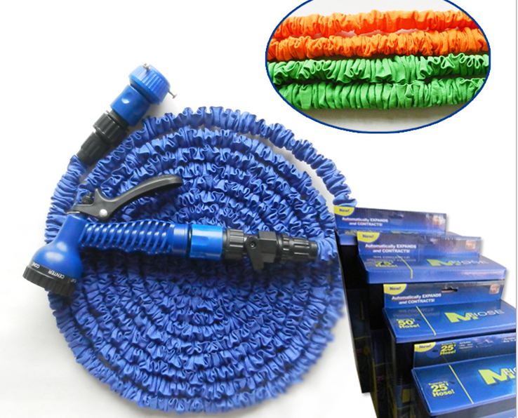 Buy 25ft Garden Hose With Expandable Blue