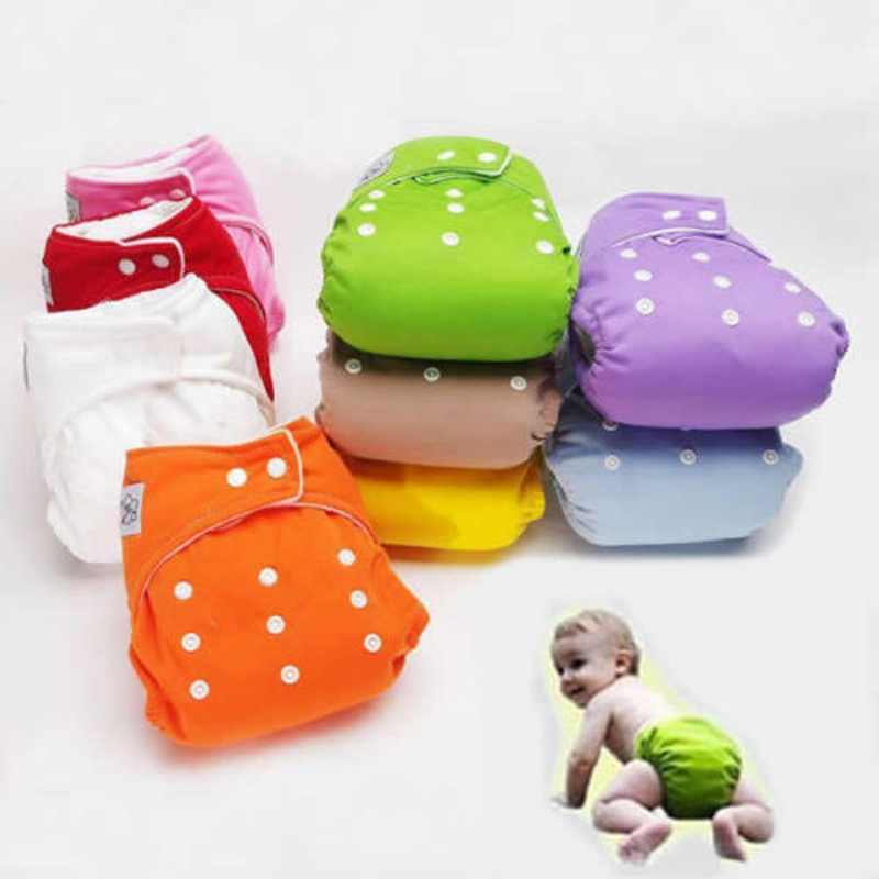 1 X Adjustable Reusable Baby Infant Nappy Cloth Diapers Fraldas Soft Covers Washable Size For Winter/ Summer