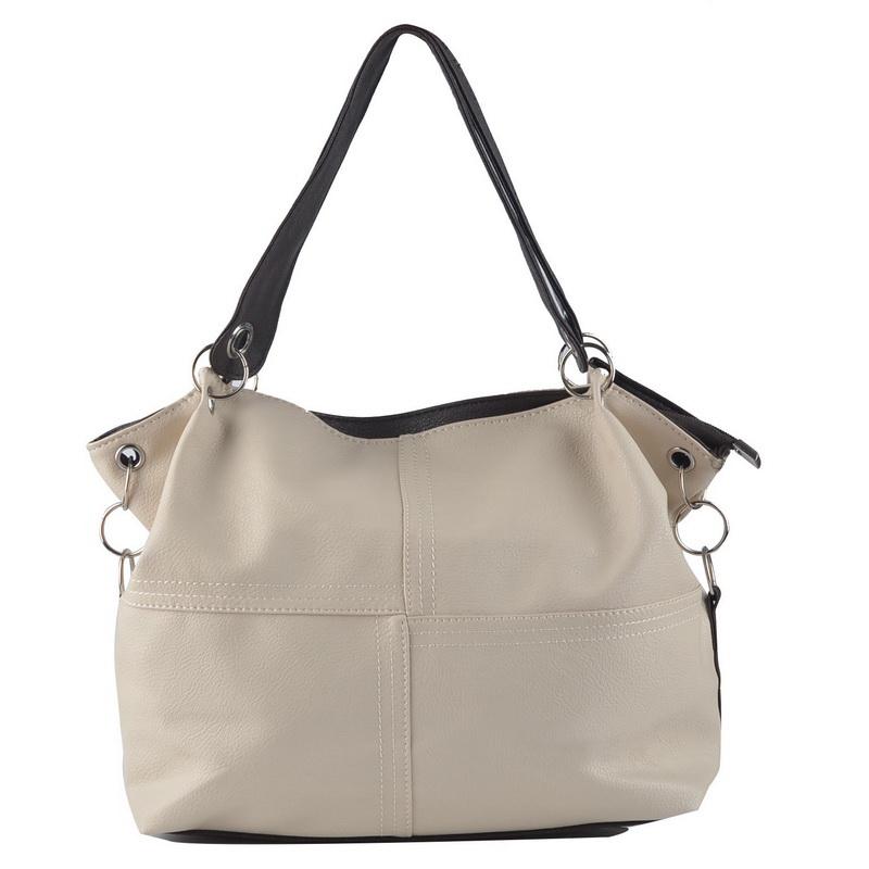 Hot 2015 New Women Handbag PU Leather Handbag Women Messenger Bag Splice Grafting Crossbody Bags Top-Handle Shoulder Women Bag(China (Mainland))