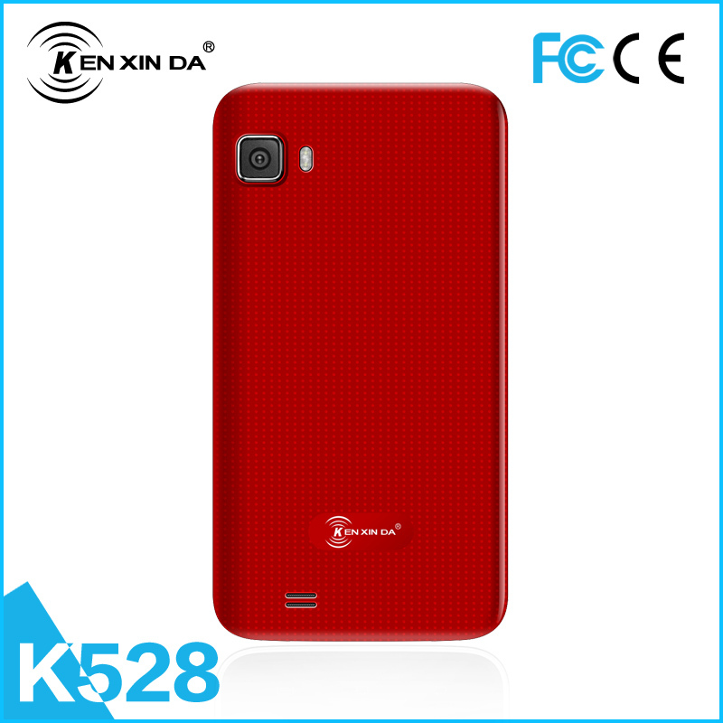 Kenxinda brand hot sell 3.5 inch dual sim card android 4.4 bluetooth mobile phone online(China (Mainland))
