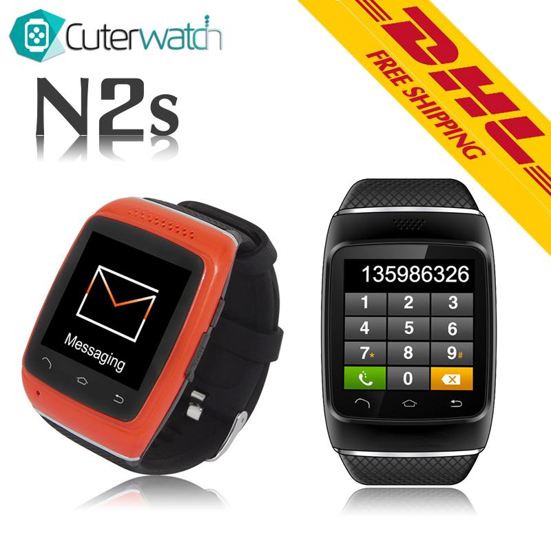 2016 CuterWatch Bluetooth Smart Watch N2s Smartwatch Bluetooth Smart Wrist Watch Phone with DHL FREE SHIPPING<br><br>Aliexpress