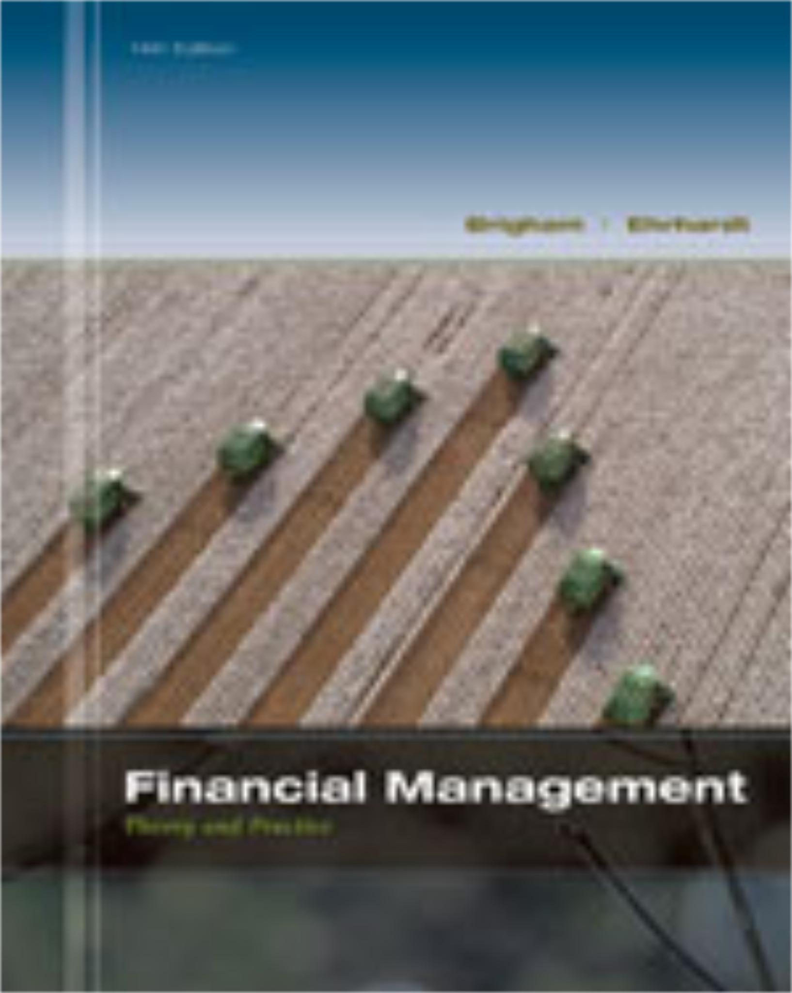 financial management test Financial management test on administer  is your financial management up-to- date take a quick test if you suspect that you are not getting everything out of.
