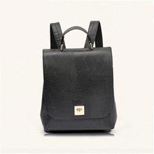 2016 Bolsas Feminina Women Backpacks New Girls Schoolbag Should Book Bag For Teenagers Travel Sac A Dos High Quality PVC Black(China (Mainland))