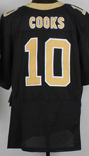 Cheap men's jersey,Elite 9 Brees 10 Cooks 12 Colston 31 Byrd 32 Vaccaro Jerseys,Size M-XXXL,Best Quality,Authentic Jersey(China (Mainland))