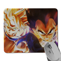 Size 220mmX180mmX2mm Anime Goku Dragon Ball Z Mouse Pad Large Anime Desk Mat Mouse Pad Table