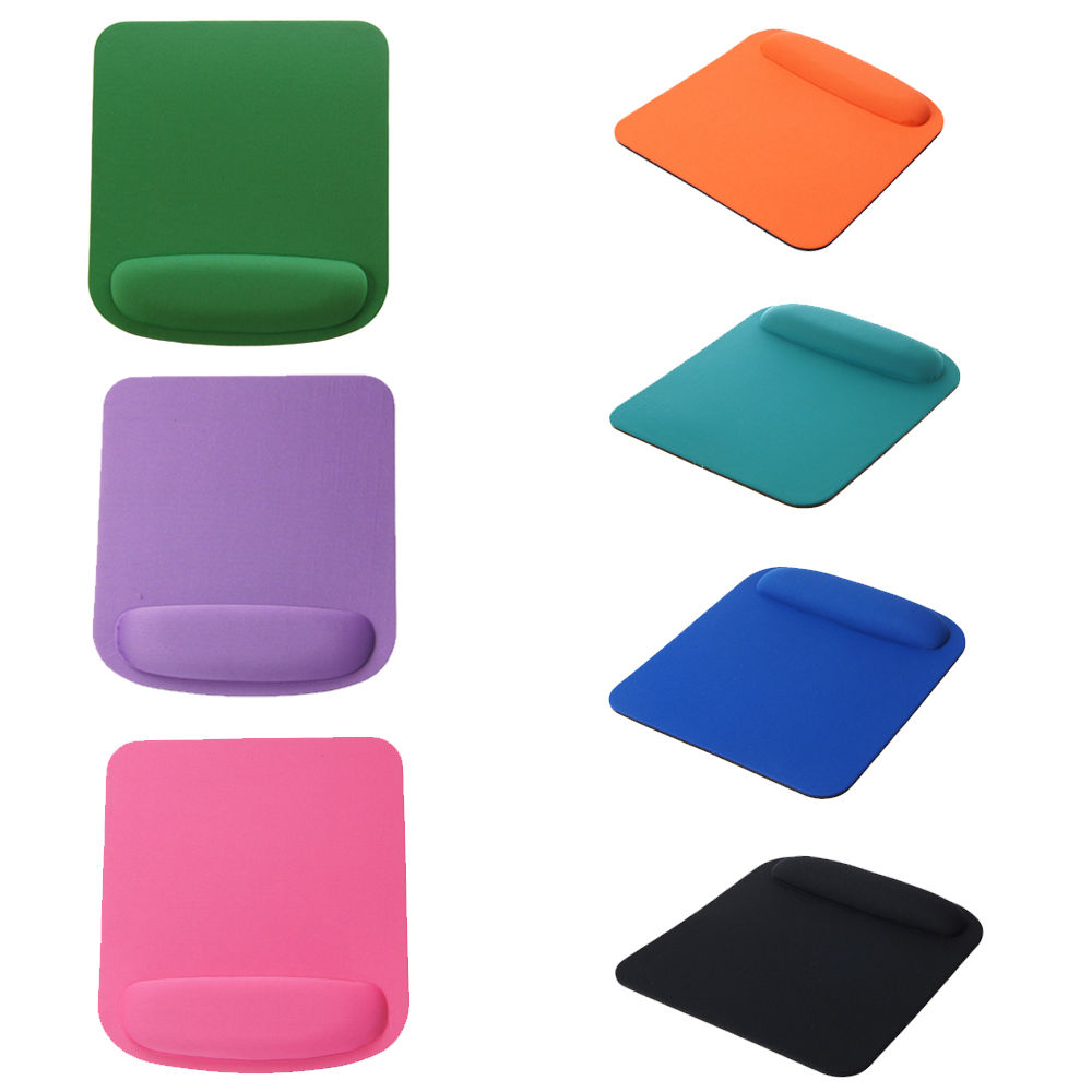 1pcs Square Mouse Pad Comfort Wrist Gel Thicken Support For Optical/Trackball Mat Mice Pad Free shipping 23cm*21cm(China (Mainland))