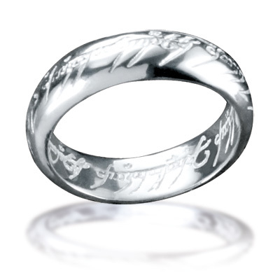 Bahamut Lord of The Rings Ring Pendant Free With Chain - 925 Sterling Silver The One Ring(China (Mainland))